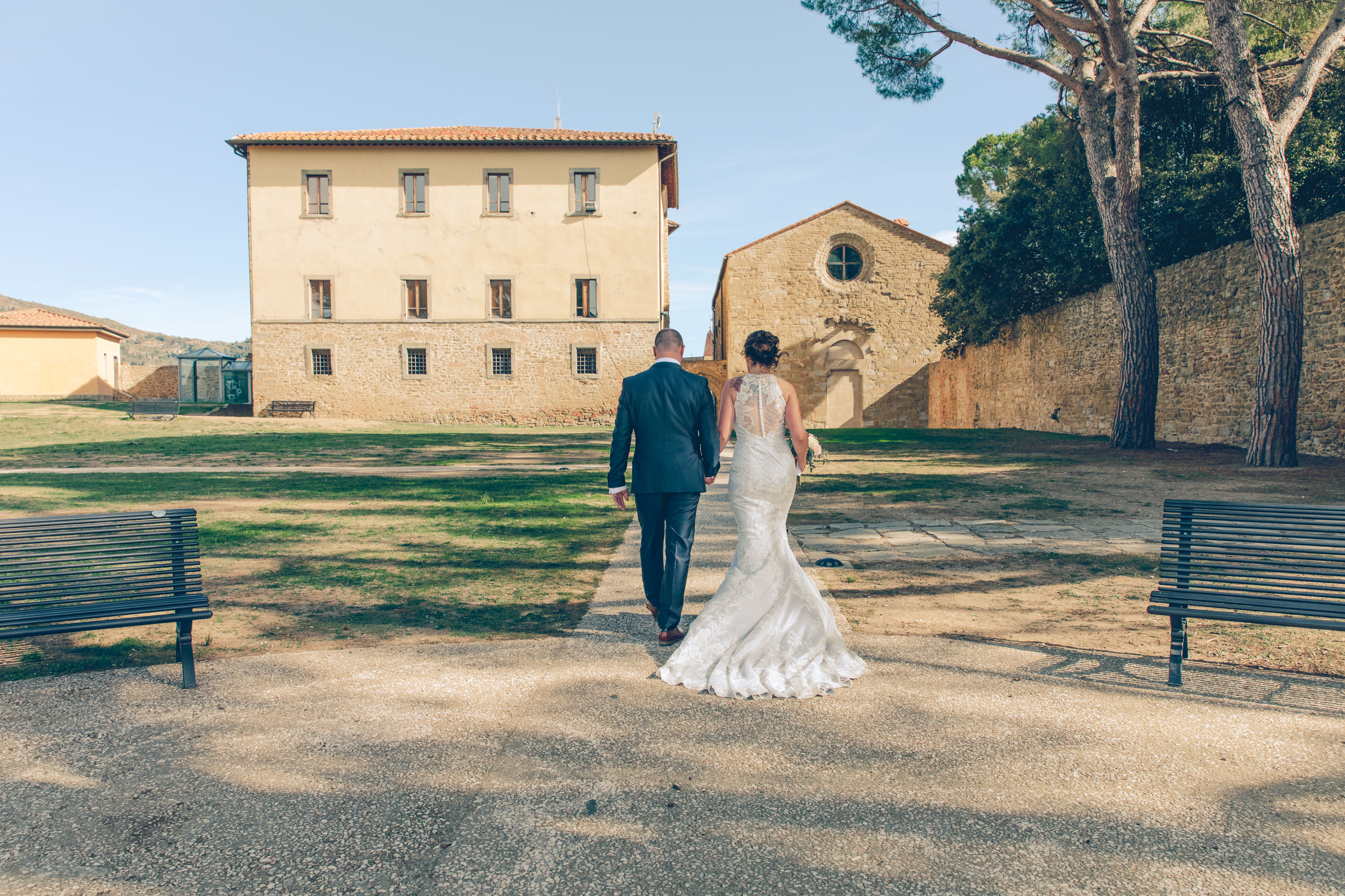 Naimisiin Italiassa. Foto: Wedding Movie